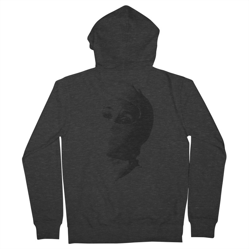 Balaklava Women's French Terry Zip-Up Hoody by Torn Space Theater's Artist Shop