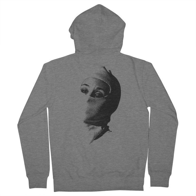 Balaklava Women's French Terry Zip-Up Hoody by Torn Space Theater Merch
