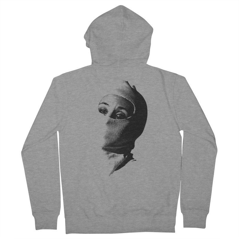 Balaklava Men's French Terry Zip-Up Hoody by Torn Space Theater Merch