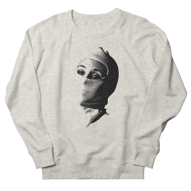 Balaklava Women's French Terry Sweatshirt by Torn Space Theater's Artist Shop