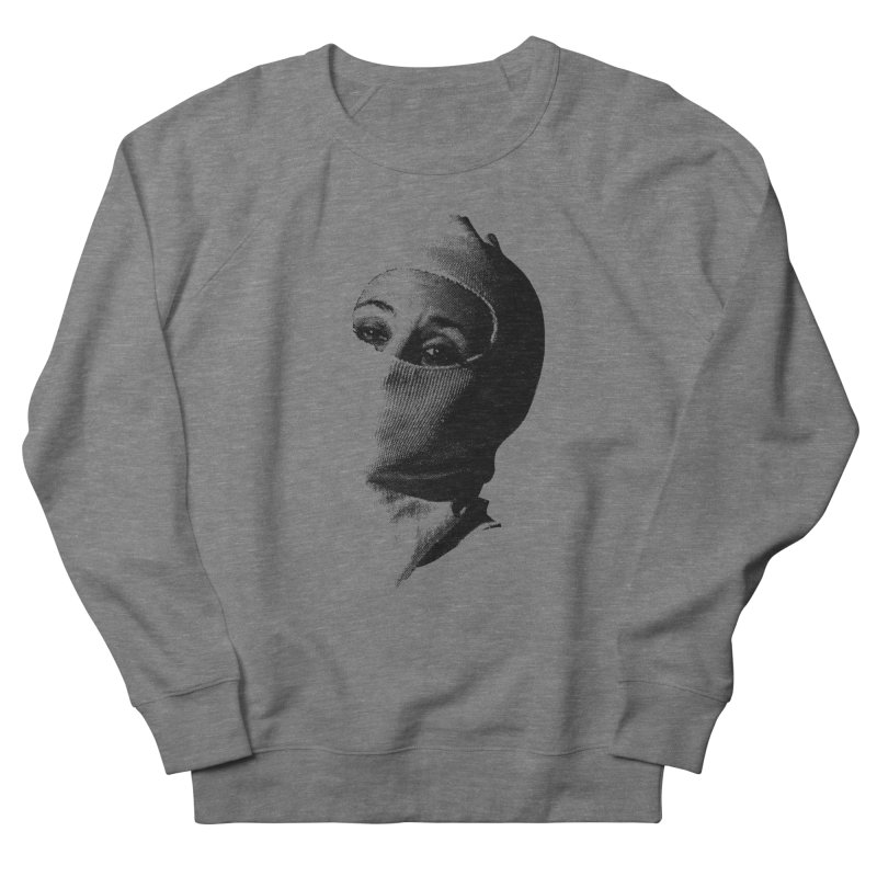 Balaklava Men's French Terry Sweatshirt by Torn Space Theater Merch