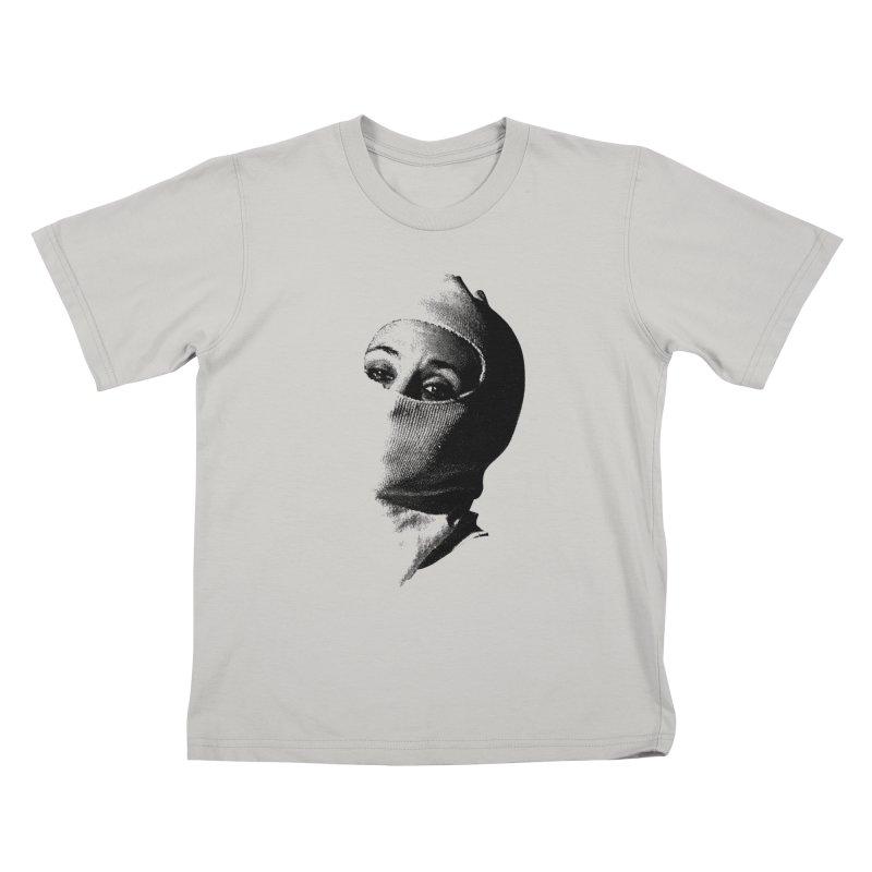 Balaklava Kids T-shirt by Torn Space Theater's Artist Shop