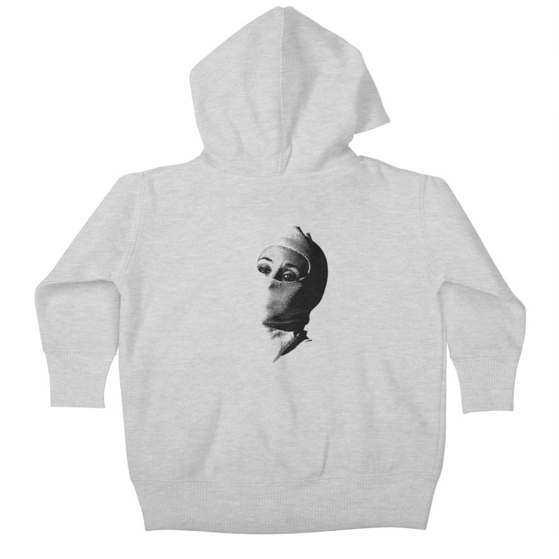 Balaklava Kids Baby Zip-Up Hoody by Torn Space Theater's Artist Shop