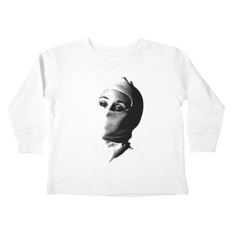 Balaklava Kids Toddler Longsleeve T-Shirt by Torn Space Theater's Artist Shop