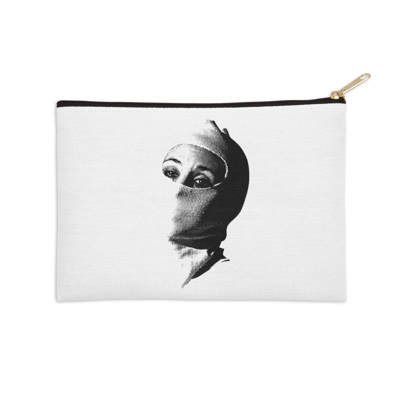 Balaklava Accessories Zip Pouch by Torn Space Theater Merch