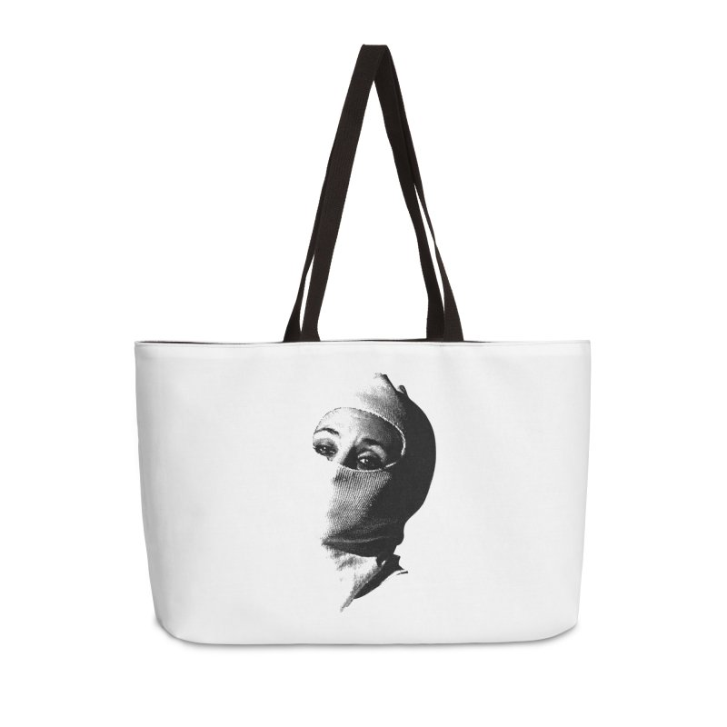 Balaklava in Weekender Bag by Torn Space Theater's Artist Shop
