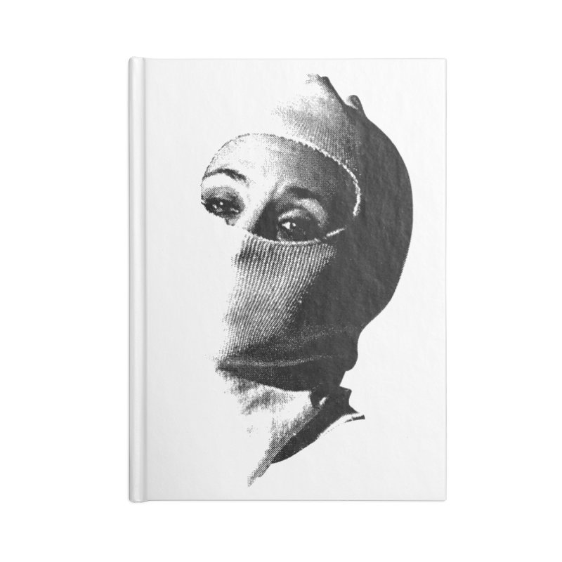Balaklava Accessories Blank Journal Notebook by Torn Space Theater Merch