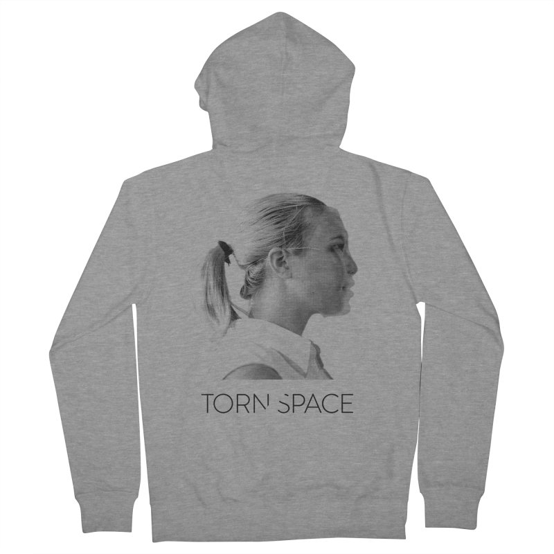 Athlete Women's French Terry Zip-Up Hoody by Torn Space Theater Merch
