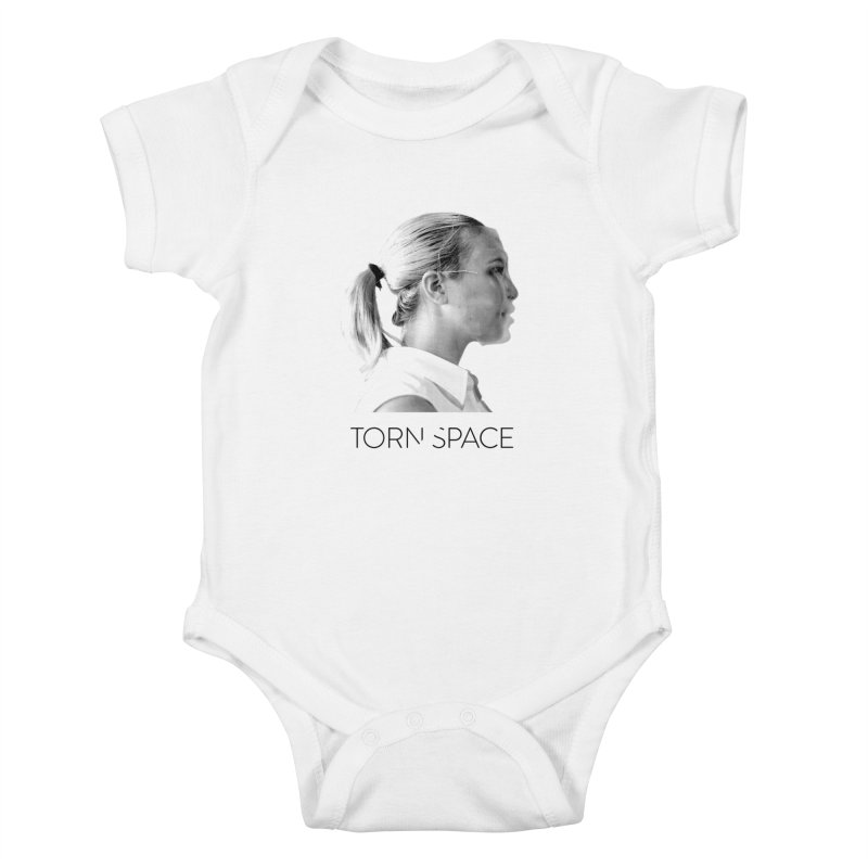 Athlete Kids Baby Bodysuit by Torn Space Theater Merch