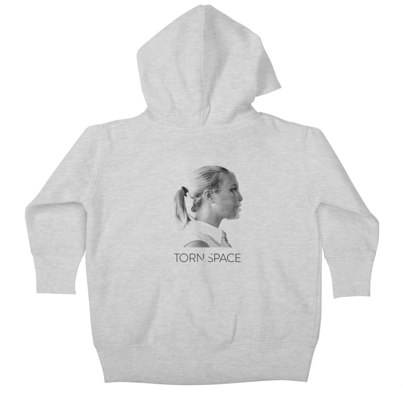 Athlete Kids Baby Zip-Up Hoody by Torn Space Theater Merch