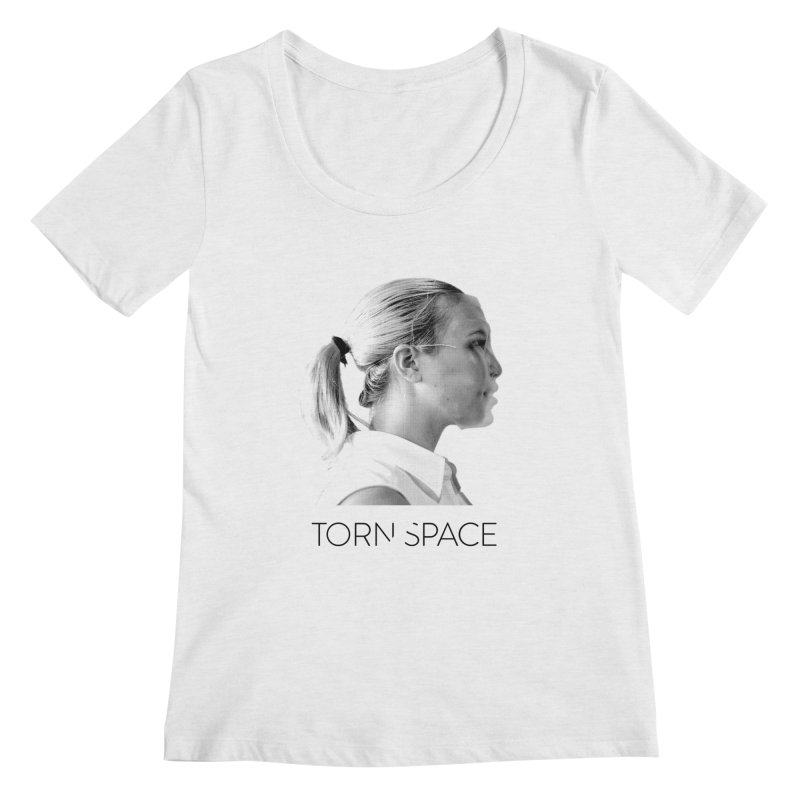 Athlete Women's Regular Scoop Neck by Torn Space Theater Merch