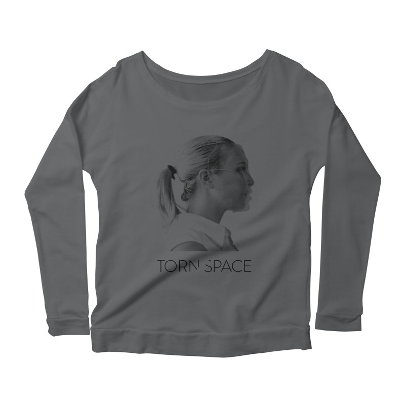 Athlete Women's Scoop Neck Longsleeve T-Shirt by Torn Space Theater Merch