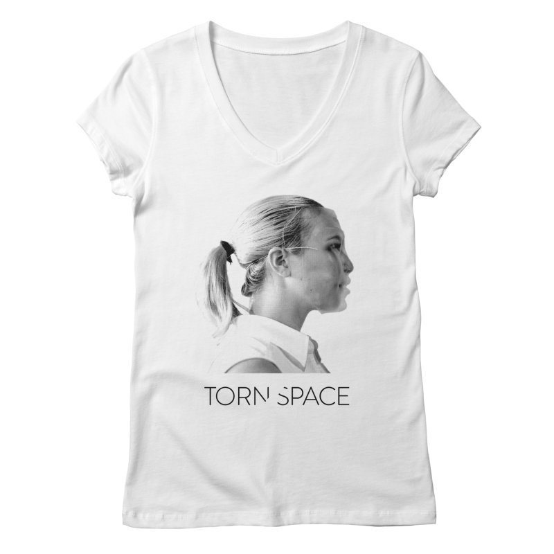 Athlete Women's Regular V-Neck by Torn Space Theater Merch