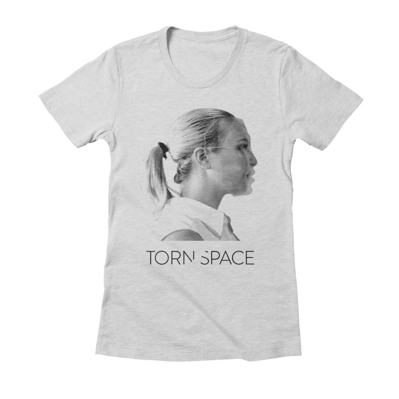 Athlete Women's Fitted T-Shirt by Torn Space Theater Merch