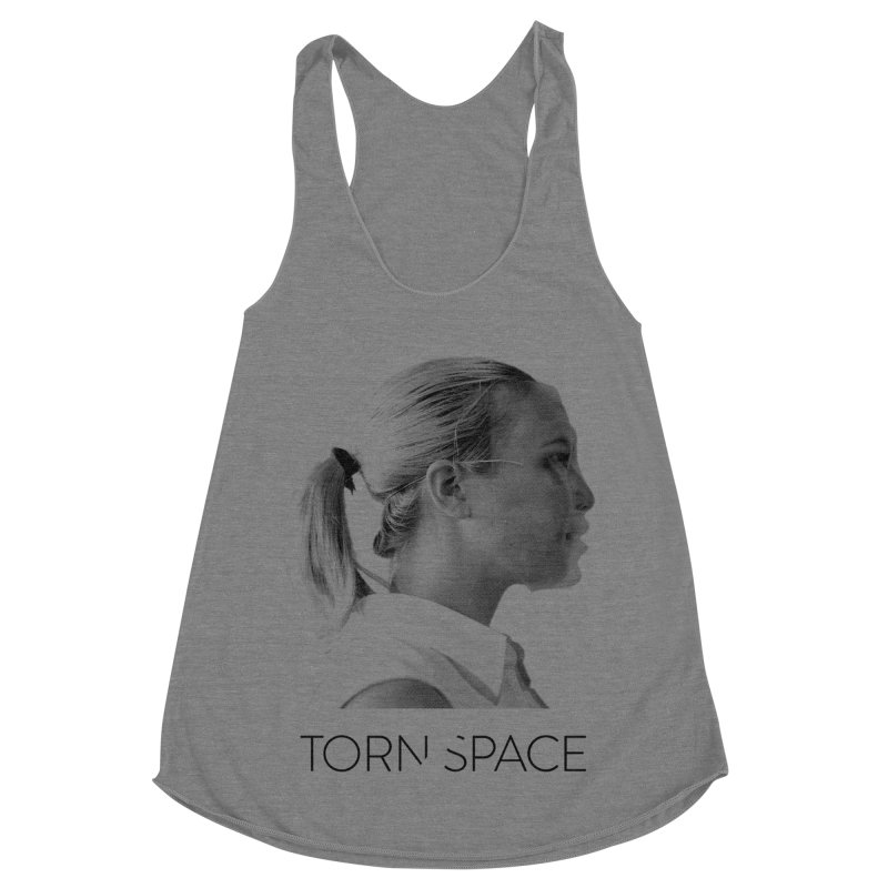 Athlete Women's Racerback Triblend Tank by Torn Space Theater Merch