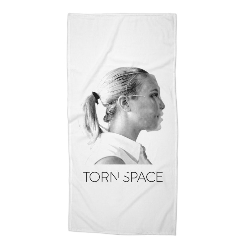 Athlete Accessories Beach Towel by Torn Space Theater Merch