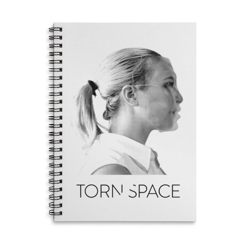 Athlete Accessories Lined Spiral Notebook by Torn Space Theater Merch