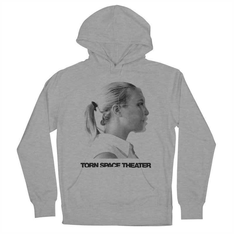 Athlete Women's French Terry Pullover Hoody by Torn Space Theater's Artist Shop