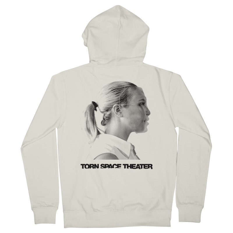 Athlete Men's French Terry Zip-Up Hoody by Torn Space Theater's Artist Shop