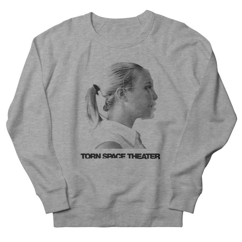 Athlete Men's French Terry Sweatshirt by Torn Space Theater's Artist Shop