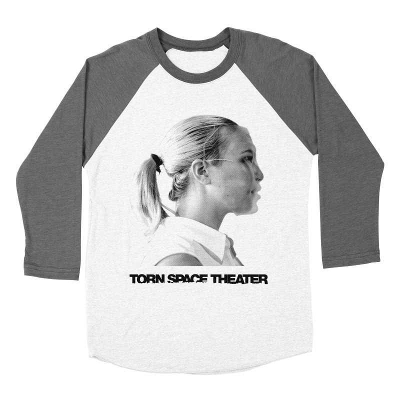 Athlete Women's Baseball Triblend T-Shirt by Torn Space Theater's Artist Shop