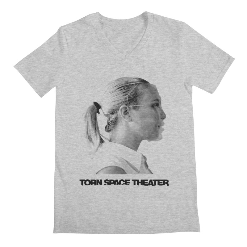 Athlete Men's V-Neck by Torn Space Theater's Artist Shop