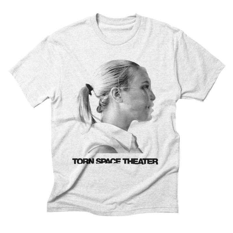 Athlete in Men's Triblend T-shirt Heather White by Torn Space Theater's Artist Shop