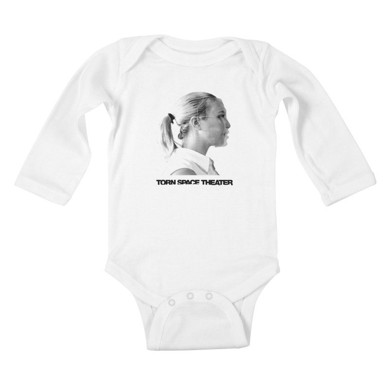 Athlete Kids Baby Longsleeve Bodysuit by Torn Space Theater's Artist Shop