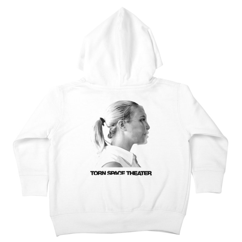 Athlete Kids Toddler Zip-Up Hoody by Torn Space Theater's Artist Shop
