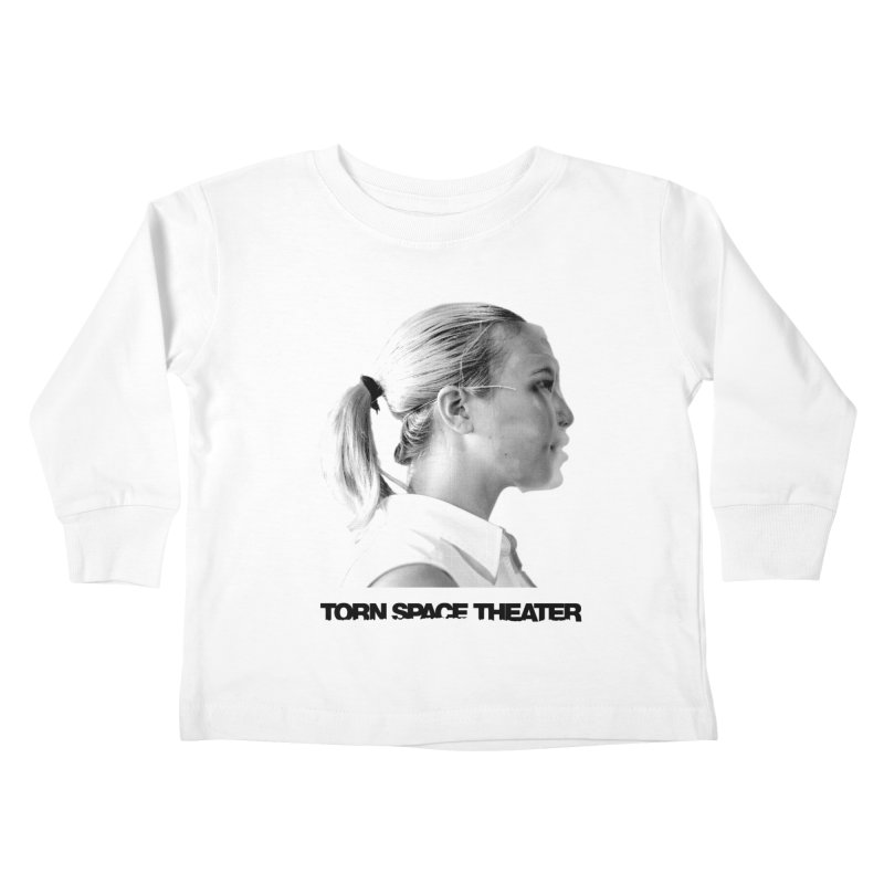 Athlete Kids Toddler Longsleeve T-Shirt by Torn Space Theater's Artist Shop