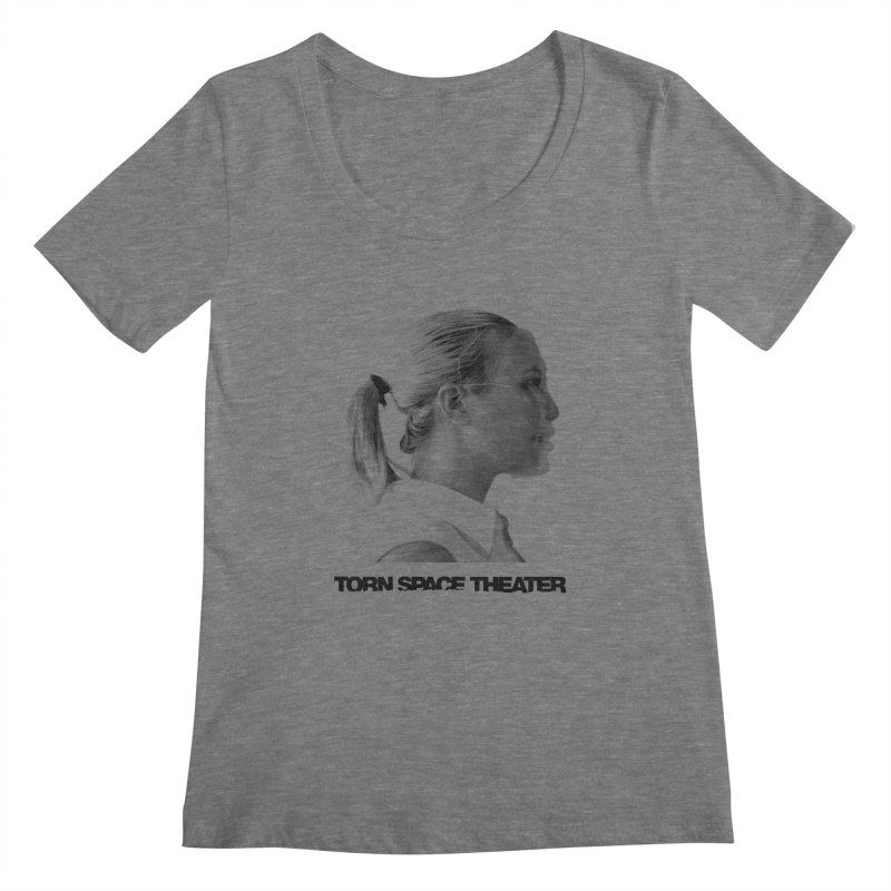 Athlete Women's Scoopneck by Torn Space Theater's Artist Shop