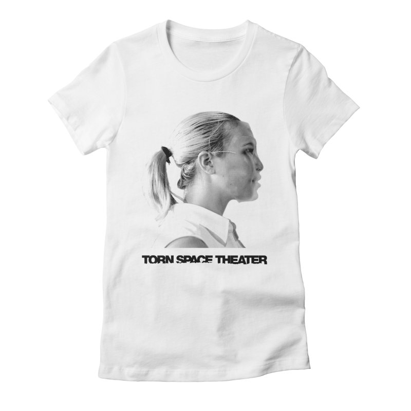 Athlete Women's Fitted T-Shirt by Torn Space Theater's Artist Shop