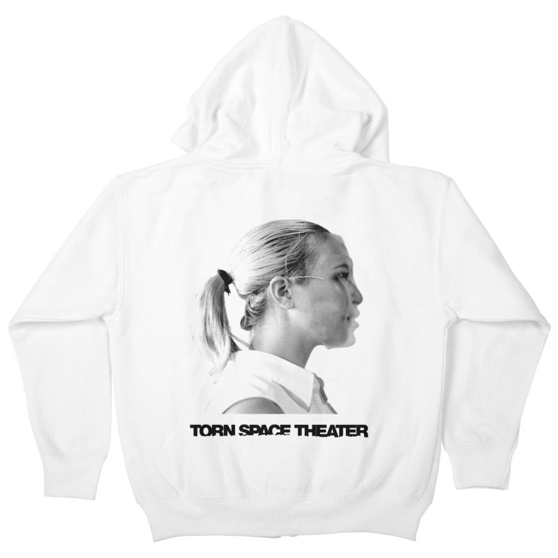 Athlete Kids Zip-Up Hoody by Torn Space Theater's Artist Shop