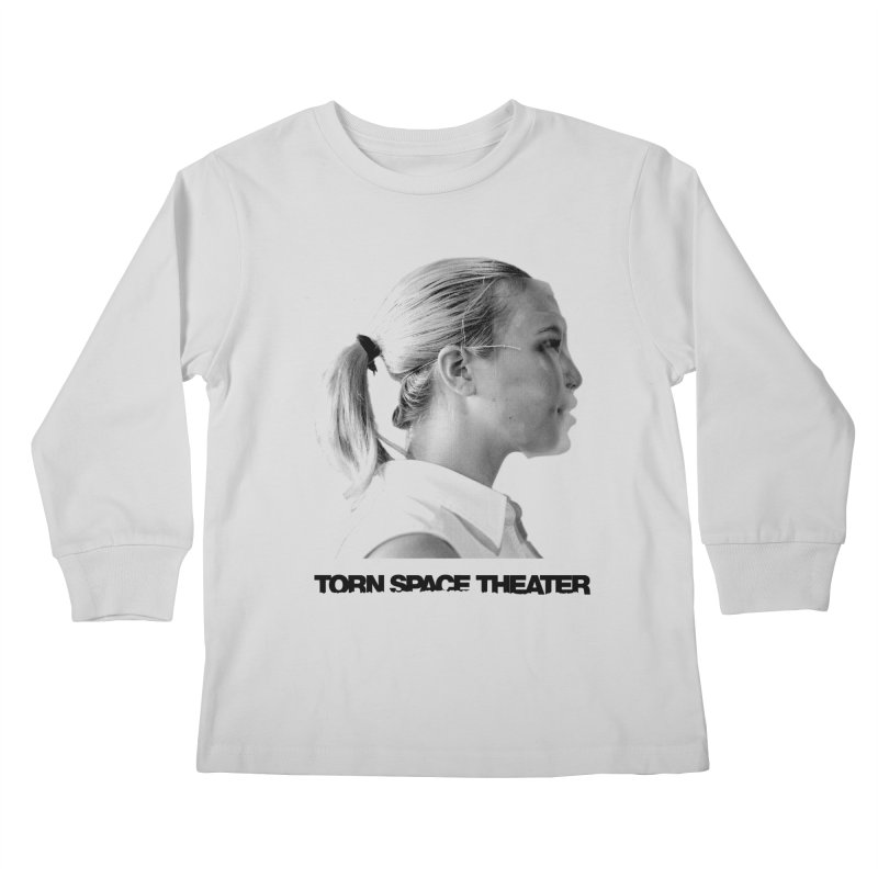 Athlete Kids Longsleeve T-Shirt by Torn Space Theater's Artist Shop