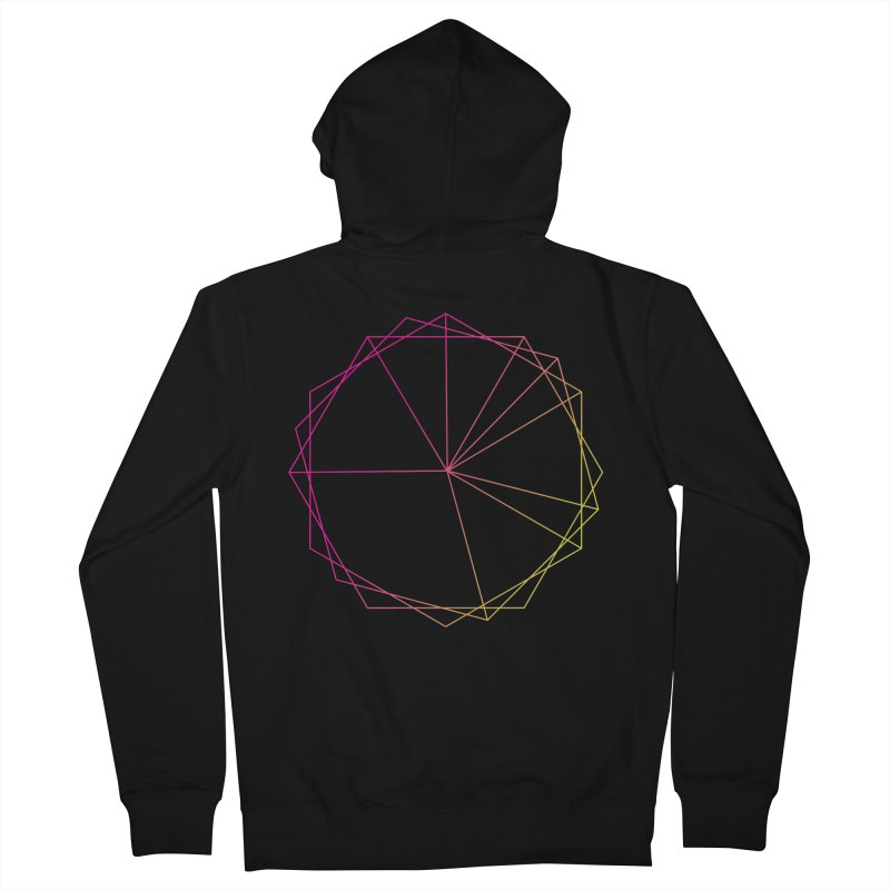 Maypole Symbol II Women's French Terry Zip-Up Hoody by Torn Space Theater's Artist Shop