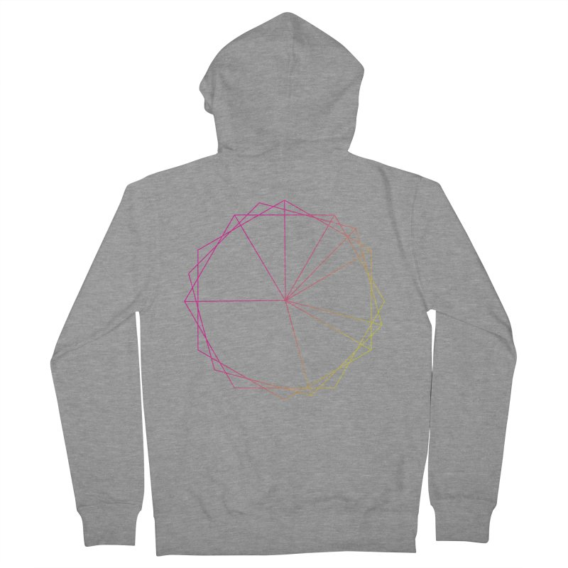 Maypole Symbol II Men's French Terry Zip-Up Hoody by Torn Space Theater's Artist Shop