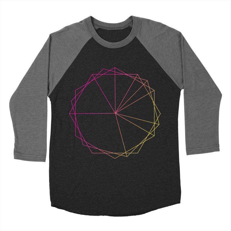 Maypole Symbol II Men's Baseball Triblend T-Shirt by Torn Space Theater's Artist Shop