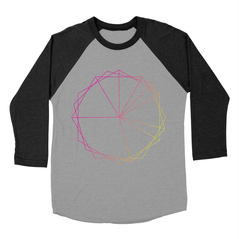 Maypole Symbol II Men's Baseball Triblend Longsleeve T-Shirt by Torn Space Theater's Artist Shop