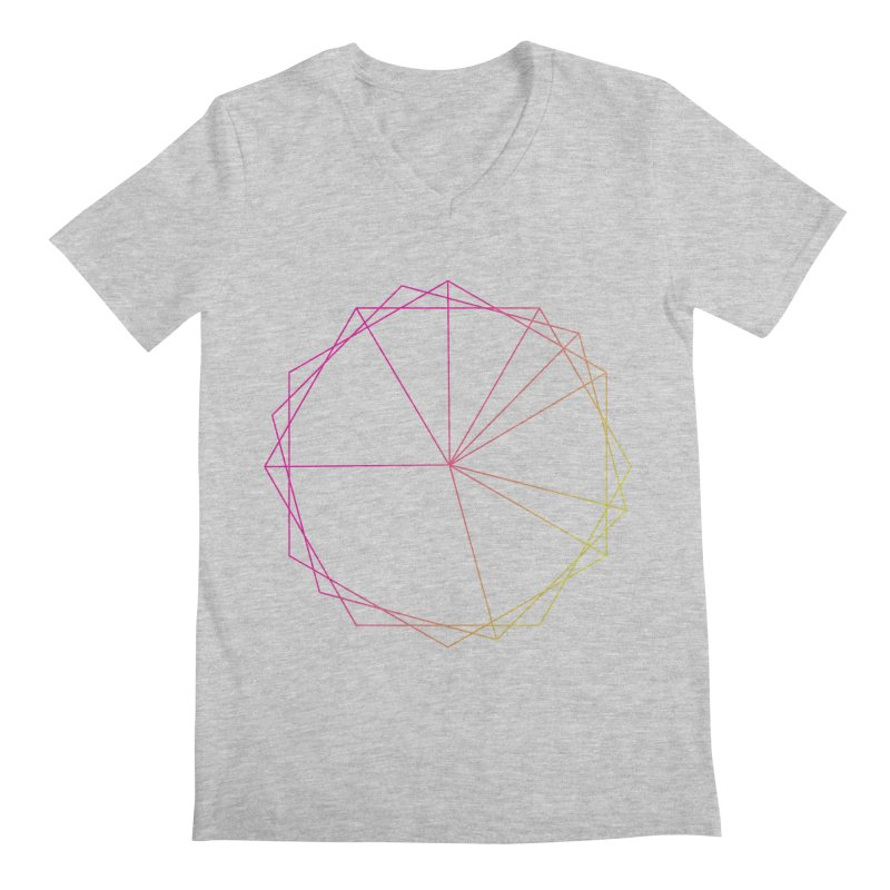 Maypole Symbol II Men's V-Neck by Torn Space Theater's Artist Shop
