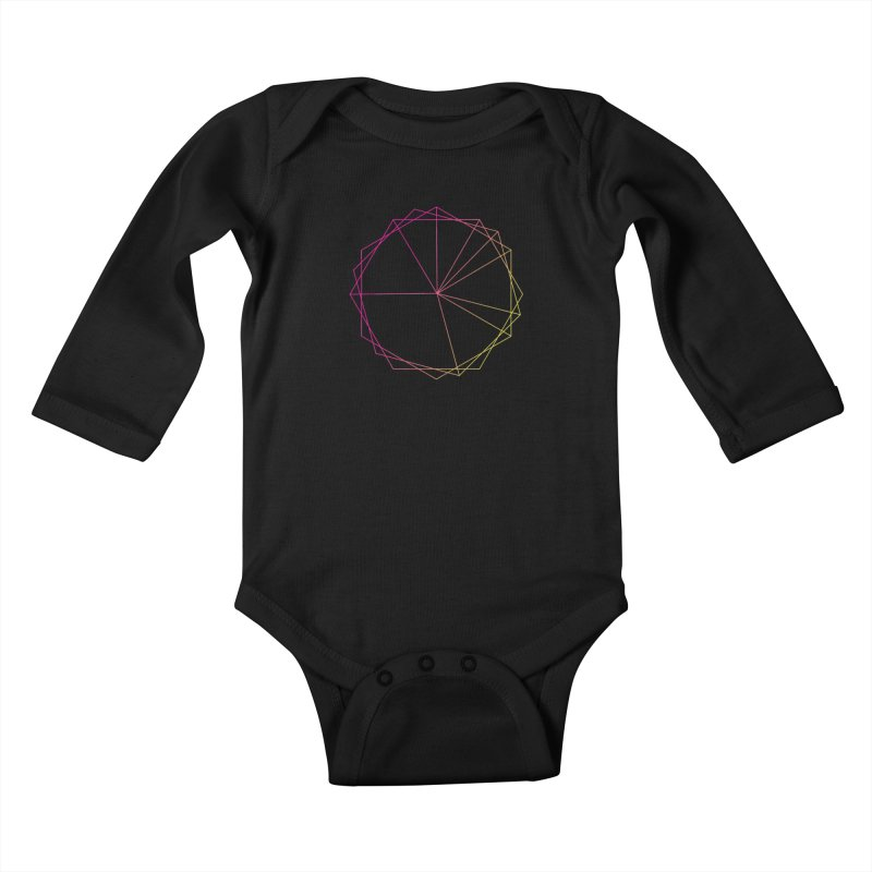 Maypole Symbol II Kids Baby Longsleeve Bodysuit by Torn Space Theater's Artist Shop