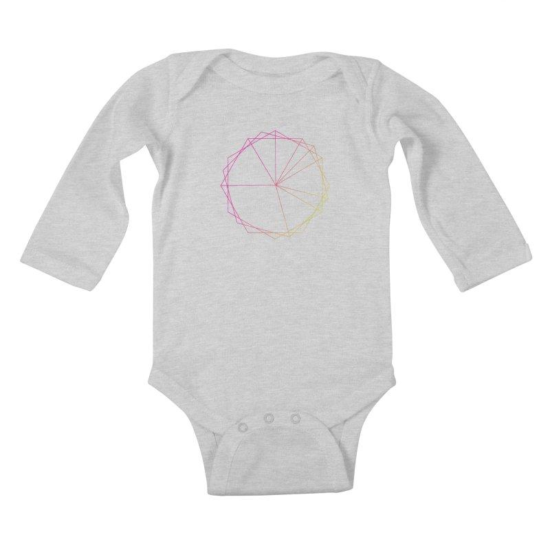 Maypole Symbol II Kids Baby Longsleeve Bodysuit by Torn Space Theater's Artist Shop