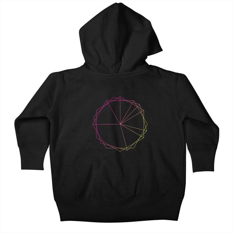 Maypole Symbol II Kids Baby Zip-Up Hoody by Torn Space Theater's Artist Shop