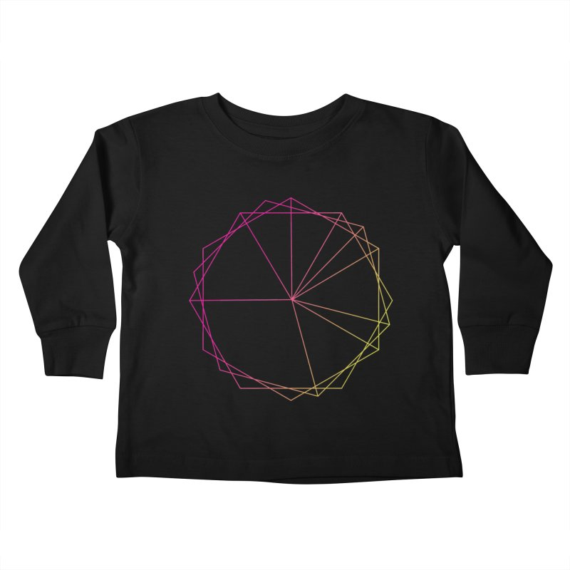 Maypole Symbol II Kids Toddler Longsleeve T-Shirt by Torn Space Theater's Artist Shop