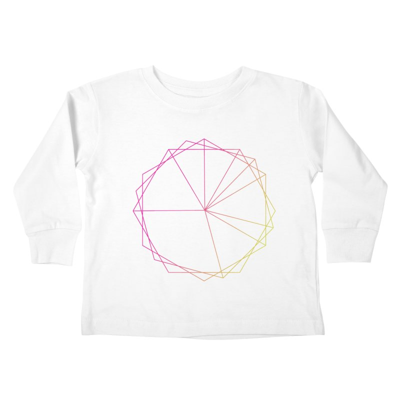 Maypole Symbol II Kids Toddler Longsleeve T-Shirt by Torn Space Theater's Artist Shop
