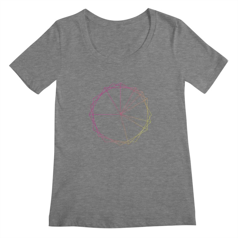 Maypole Symbol II Women's Scoopneck by Torn Space Theater's Artist Shop