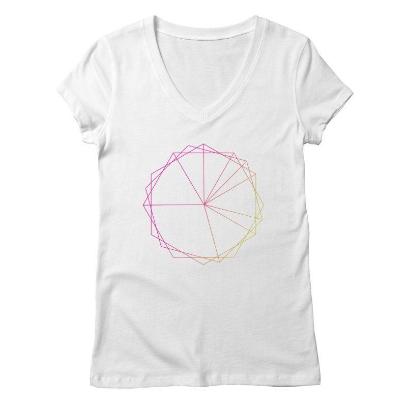 Maypole Symbol II Women's V-Neck by Torn Space Theater's Artist Shop
