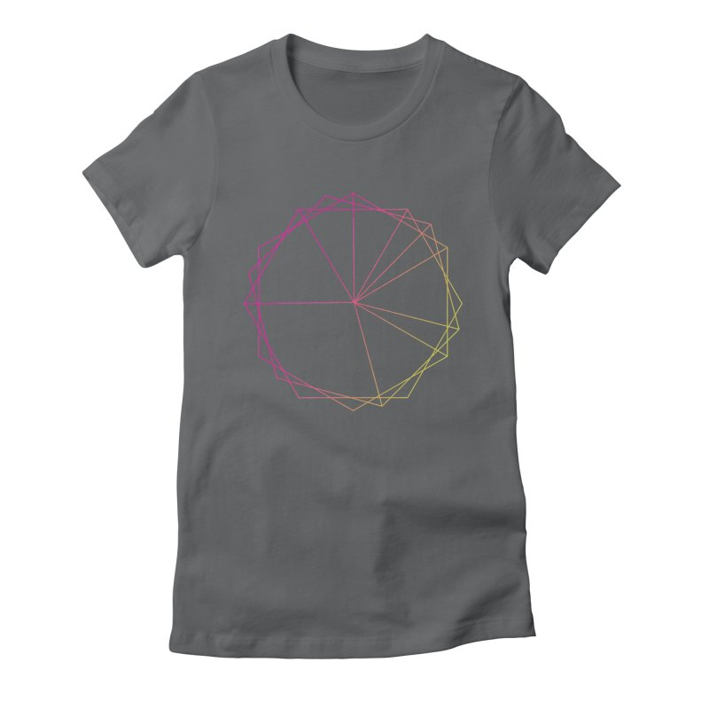 Maypole Symbol II Women's Fitted T-Shirt by Torn Space Theater's Artist Shop