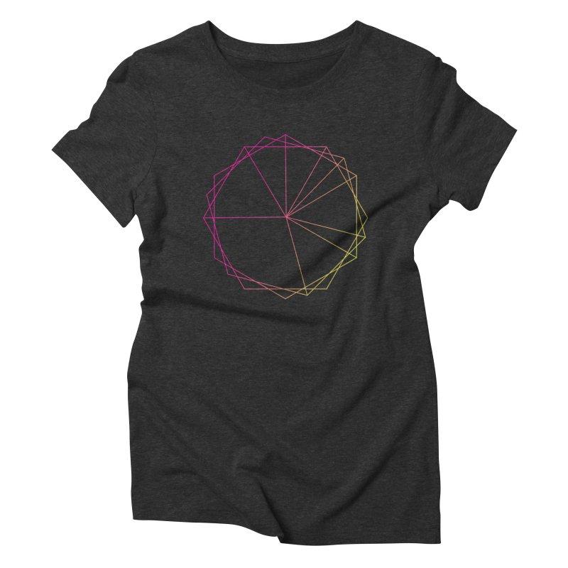 Maypole Symbol II Women's Triblend T-Shirt by Torn Space Theater's Artist Shop