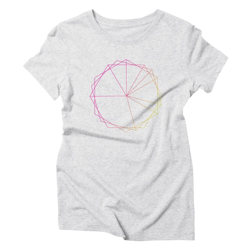 Maypole Symbol II Women's Triblend T-shirt by Torn Space Theater's Artist Shop