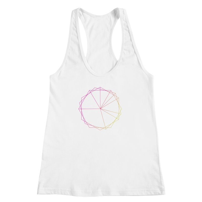 Maypole Symbol II Women's Racerback Tank by Torn Space Theater's Artist Shop